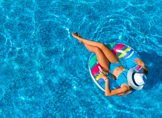 arreglar cañerías piscina sin obras
