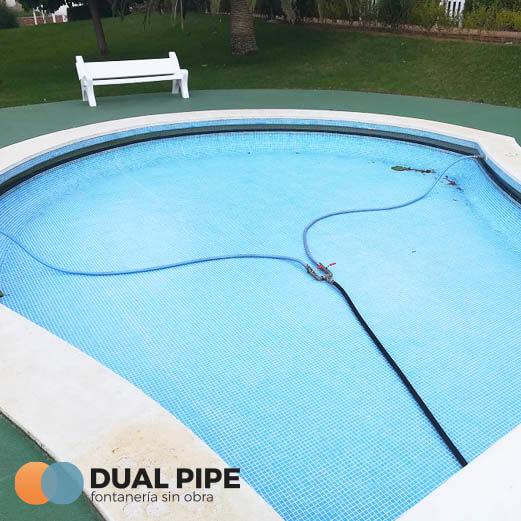 desatascar tuberías piscina particular