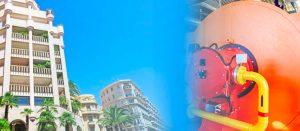 reparación de calderas de hoteles