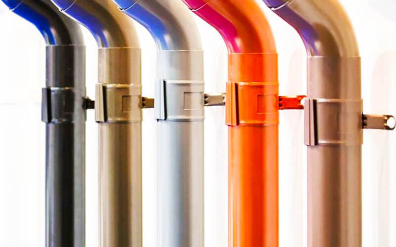 tipos de materiales tuberías bajantes