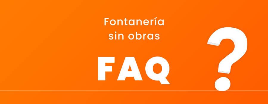 preguntas frecuentes sobre fontanería sin obras